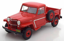 BoS 1954 Willys Jeep Pick Up Red Color Limited Edition of 1000 1:18 Scale. Rare!