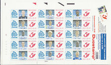 DUOSTAMP Feuille 15 timbres Club de GENK MNH **