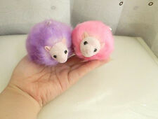 Harry Potter PYGMY PUFF Plush Toy dolls Pink & Purple Key Ring 2pcs