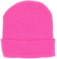 Polyester/Cotton Mens One Size Fits All Multicolor Warm Winter Beanie Cap Hat