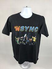 Rare VTG 1999 *NSYNC Band Justin Timberlake Short Sleeve T-Shirt Size Large