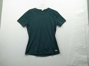 Under Armour Heat Gear Womens Hunter Green Top Size Small Petite, Ex Cond!