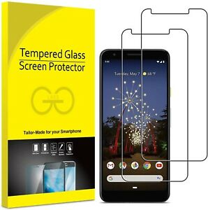 For Google Pixel 3A Tempered Glass Screen Protector Case Friendly UK