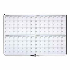 New listing Quartet Whiteboard Planner 4-Month Planning White Board Dry Erase Board 23.