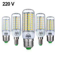 NEW LED Lamp E14 E27 Corn Bulb 24 36 48 56 69 72LEDs LED Light Bulb SMD5730 220V