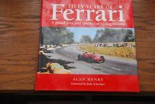 Cinquante ans de Ferrari Un grand prix et voiture de sport racing history HENRY