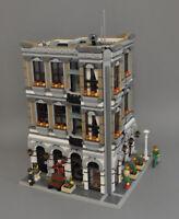 Modular Sushi Bar Bauanleitung für LEGO (passt zu 10197 10211 10224 10218 10182)