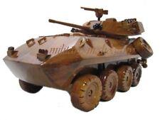USMC Lav-25 Coyote Marine Light Amphibious Vehicle Assault Wood Wooden Model New
