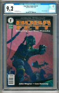"Star Wars: Boba Fett #1 (1995) CGC 9.2 WP Wagner - Kennedy ""Bounty On Bar-Kooda"""