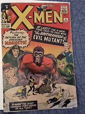 X-Men #4 1964 CGC 1st Scarlet Witch Quicksilver Brotherhood 2nd Magneto