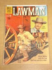 LAWMAN #5 VG (4.0) DELL COMICS AUGUST-OCTOBER 1960