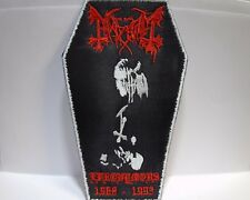 mayhem  euronymous  coffin EMBROIDERED PATCH