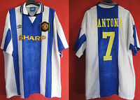 Maillot Vintage UMBRO Manchester United Eric Cantona n° 7 Away - XXL