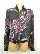 h) Luxus Designer Diesel Jacke leicht Gr.S Neu UVP250€  Viscose
