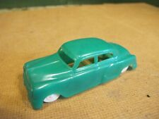 Plasticville, Model Trains, GREEN CAR, Scale O, 3 3/4""