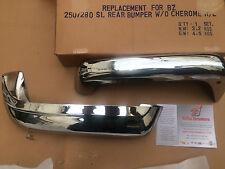 MERCEDES PAGODA PARAURTI CROMATO POSTERIORE MODELLO 230SL 250SL 280SL W111 112