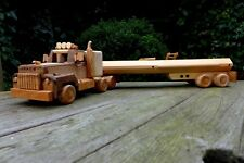 Mack Rubber Duck Truck wooden model very high quality perfect for gift collector