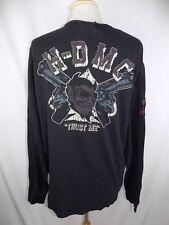 Men's Harley-Davidson Black L/S Logo Shirt Size XL H-DMC Devil