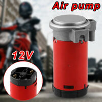 1*12V Air Compressor Pump Portable for Air Horn Car Truck Vehicle Motorcycle