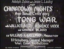 Chinatown Nights 1929 Wallace Beery, Florence Vidor
