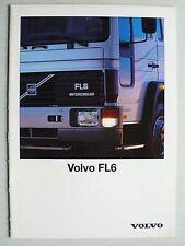 Prospekt Volvo FL6, 12.1991, 20 Seiten