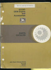 John Deere 6329D Oem Engine Accessories Parts Catalog Pc-1418 Lion Forklift