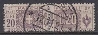 Italy Regno - 1914 Pacchi Top Value - Sassone n. 19 cv 780$ used