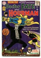 SHOWCASE #55 Solomon Grundy GOLDEN-AGE  GREEN LANTERN comic book VG