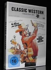 DVD CLASSIC WESTERN COLLECTION BOx No 4 - BARQUERO + 4 VÖGEL AM GALGEN ** NEU **