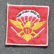 ARVN 11th PARACHUTE Battalion TIEU DOAN 11 NHAY DU