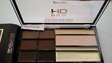 Makeup Revolution HD Pro Brows Palette 4 powder and 2 creams  brow highlighters
