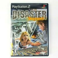 Disaster Report For Sony Playstation 2 (PS2) 2003 Rare Complete - Tested Works!