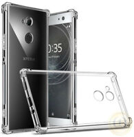 For Sony Xperia XA2, XZ2, XA1, L1,XZ1,XA Case Crystal Clear TPU Protective Cover