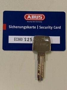 ABUS EC660 Baulänge 30/30 Inkl. 3 Schlüssel, Sicherungskarte vom Fachhandel