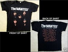 The Wanted Summer Tour Usa 2012 Size Small Black T-Shirt
