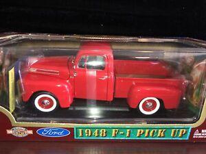 Road Legends 1948 Ford F-1 Pickup 1:18 Scale Diecast w/box