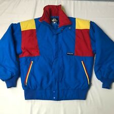 VTG 80s SUNICE Ultrex color block ski S JACKET radical sun ice red blue yellow