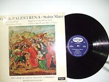 G.P. da Palestrina – Stabat Mater-Disco Vinile 33 Giri LP MONO Stampa UK 1964