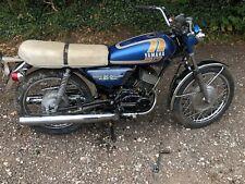 Yamaha RD200 electric start 1975, unregistered import, restoration project