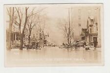 RPPC,Johnstown,PA.Flood of 3/16/1936,Vine Street Near YMCA,Cambria Co.Used,1939