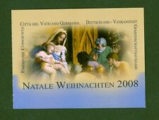 Vatikan 2008 - Weihnachten Raffael - MH 0-16 ⁑ Nr. 1628 - Joint Issue mit Bund