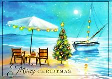 Shoreline Christmas Holiday Greeting Cards