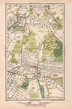 1933 LONDON MAP- LOWER SYDENHAM,SOUTHEND,NEW BECKENHAM,BECKENHAM