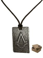 Assassins Creed Syndicate The Rooks Necklace with BOX - Amulet Pendant Medallion