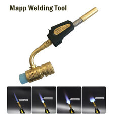 Mapp Gas Self Ignition Plumbing Turbo Torch Welding Nozzles Strong Fire
