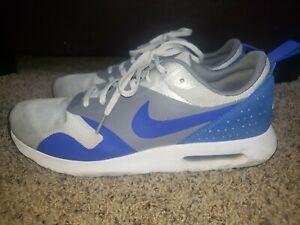 Nike Air Max Tavas 705149-014 Men's Blue Gray White Men's Running Shoes US Sz 11