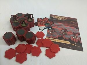 Heroscape The Battle of All Time Expansion Set Volcarren Wasteland, Lava