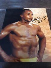 Sugar Ray Leonard Hand Signed 10x8 with Coa