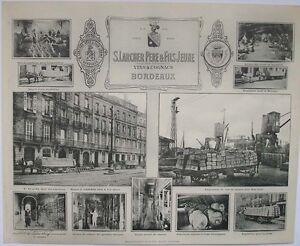 1908 LARCHER PERE & FILS JEUNE BORDEAUX HENRY GUILLIER FRENCH PHOTOGRAPHIC VIEWS
