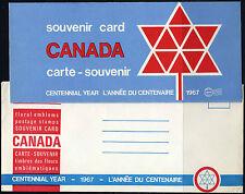 1967 CANADA SOUVENIR COLLECTION CARD 9 --- RARE Extra Fair & original envelope